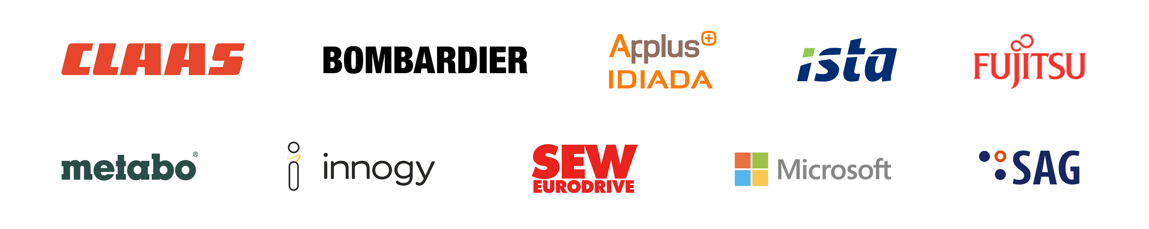 Logos clients France